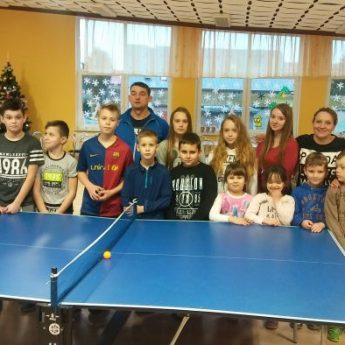 Turniej tenisa stołowego w Stuchowie