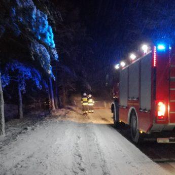 Nowy wóz strażacki przeszedł chrzest bojowy