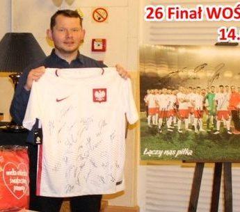 WOŚP w Międzyzdrojach: Wylicytuj koszulkę z podpisem Roberta Lewandowskiego!
