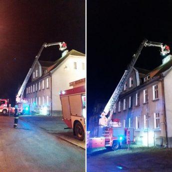 Pracowity wieczór strażaków. W Golczewie zapaliła się sadza