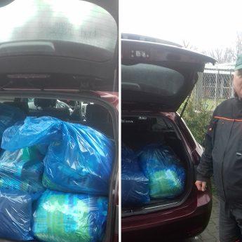 Dary od uczniów dotarły do schroniska w Sosnowicach