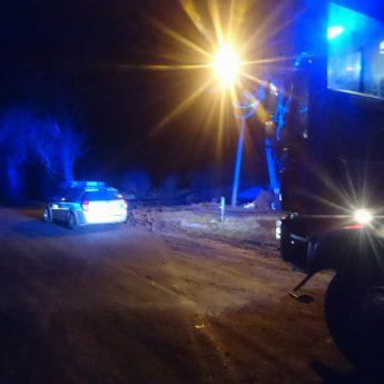 Strażacy ze Świerzna interweniowali w Kaleniu