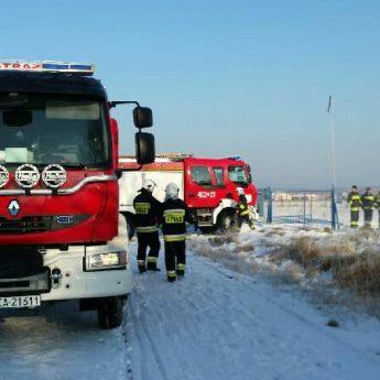 Strażacy interweniowali w Zastaniu. Wszystko przez wyczuwalny gaz
