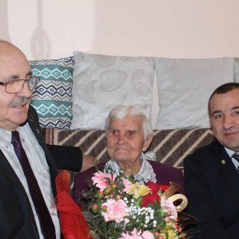 Wójt odwiedził najstarszą mieszkankę gminy