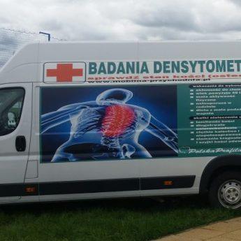 Bezpłatne badania mobilne w kierunku osteoporozy dla mieszkańców Wolina