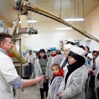 W święto piekarza i cukiernika wizytowali firmę Wiesława Żelka