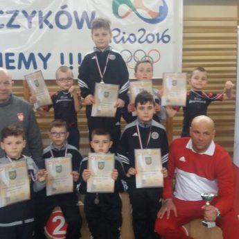 Trenerzy Wikinga Wolin poprowadzili najmłodszych zapaśników do zwycięstwa