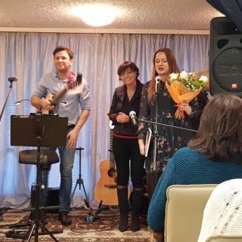 Koncert w Miejskiej Bibliotece Publicznej w Międzyzdrojach