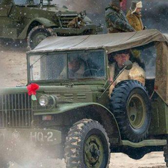 Zabytkowe pojazdy militarne pojawią się pod kamieńskim ratuszem