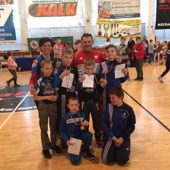 Zawodnicy Gimsportu z sukcesami w Koszalinie