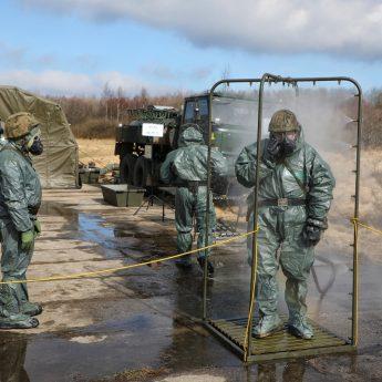 Zgrupowanie poligonowe przeciwlotników z 8.FOW z Dziwnowa