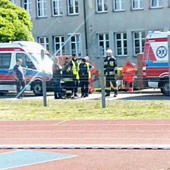 Uczniowie zaatakowani przez pszczoły w Wolinie! Na miejscu lądował śmigłowiec