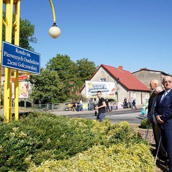 Rondo w Golczewie już ze swoim imieniem [Zdjęcia, Film]