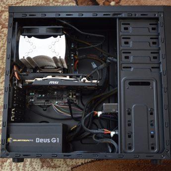 Komputer stacjonarny / monitor / głośniki 2.1 / mysz / klawiatura