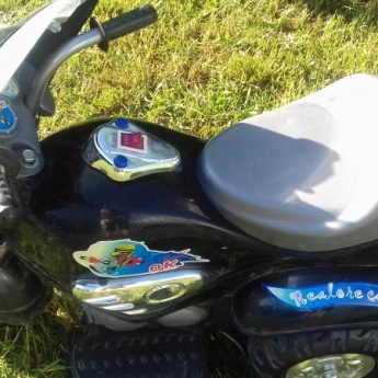 Motorek na akumulator