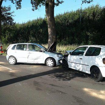 Zderzenie dwóch aut pod Wolinem. Trasa alternatywna zablokowana
