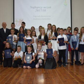 Wyróżnienia dla najlepszych uczniów w Golczewie przyznane