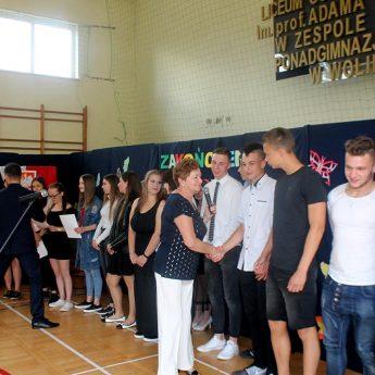 Uczniowie ZSP w Wolinie zakończyli rok szkolny