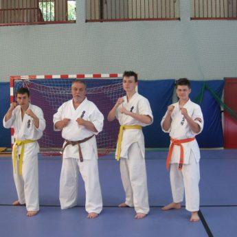 Zgrupowanie Kadry Juniorów i U-21 Polskiej Federacji Kyokushin Karate
