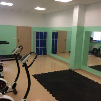 Nowa salka fitness w hali sportowej w Międzyzdrojach