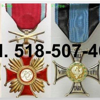 KUPIE stare ordery, medale,odznaczenia