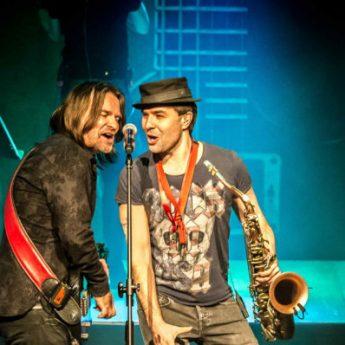 Ray Wilson na festiwalowej scenie w Dziwnowie