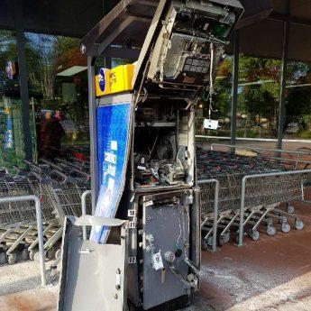 Wysadzono bankomat w Dziwnowku!