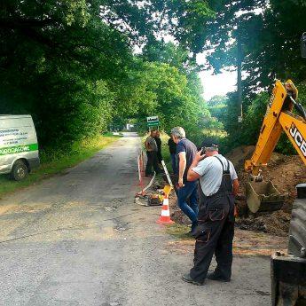 Awaria wodociągu usunięta. Mieszkańcy Strzeżewa, Strzeżewka i Wrzosowa doczekali się wody