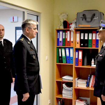 Nowy Komendant straży przejął swoje obowiązki w Kamieniu Pomorskim