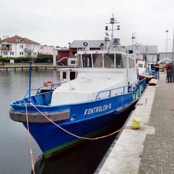 Gmina Dziwnów wzbogaciła się o łódź!