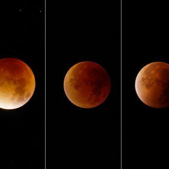 Księżyc pokryje się czerwienią. Dziś zaćmienie!