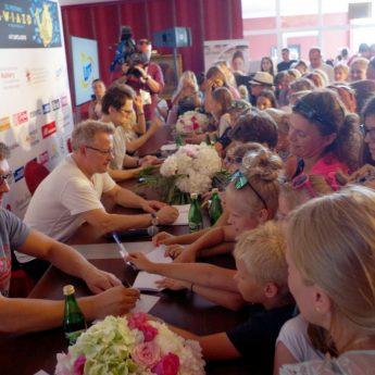 Sesja autografowa w drugi dzień Festiwalu Gwiazd