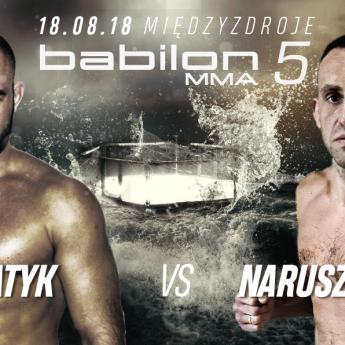 Babilon MMA 5: Haratyk - Naruszczka, wielki rewanż w Międzyzdrojach