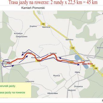 Utrudnienia w ruchu w związku z golczewskim triathlonem
