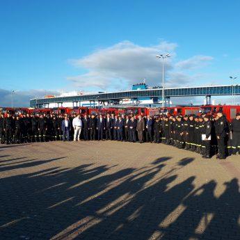 Strażacy wrócili do Polski. Rano przypłynęli do Świnoujścia