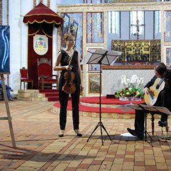 Organy, gitara i skrzypce. Uczta muzyczna młodych wirtuozów