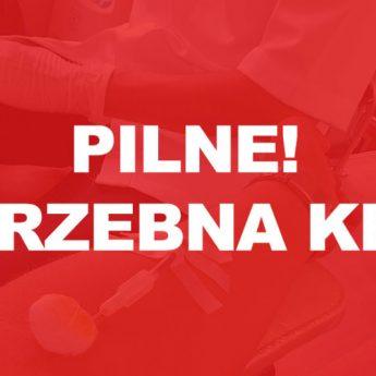 Ks. Paweł Obręczarek ze Stuchowa pilnie potrzebuje krwi!