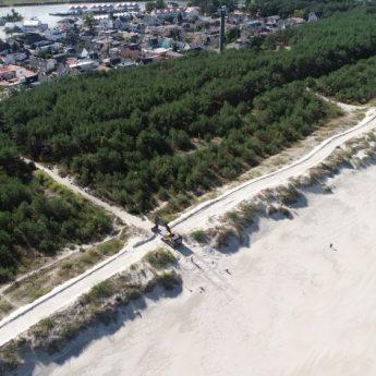 Rozpoczęła się budowa promenady zachodniej w Dziwnowie