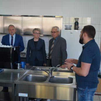 Zachodniopomorski Kurator Oświaty odwiedził Powiat Kamieński