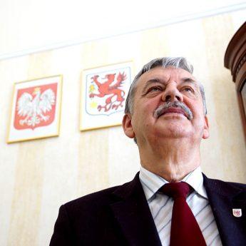 """Eugeniusz Jasiewicz żegna się z urzędem Burmistrza. """"Z dumą mieszkam w Wolinie"""""""