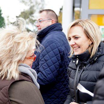 """Ewa Grzybowska znów spotkała się z Mieszkańcami. """"Świetna atmosfera i dobre rozmowy o przyszłości naszej gminy"""""""
