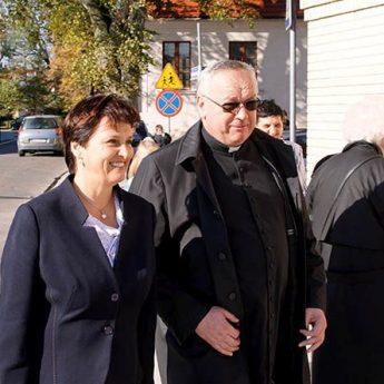 Szefowa Kancelarii Prezydenta na wystawie w Kamieniu Pomorskim