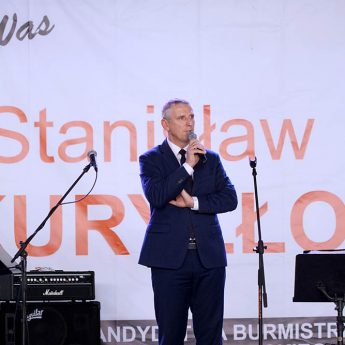 Burmistrz Stanisław Kuryłło dziękuje i zaprasza na wybory!