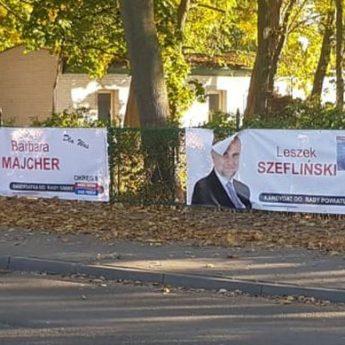 Brudna kampania na ulicach Kamienia Pomorskiego. Zniszczyli banery kandydatów