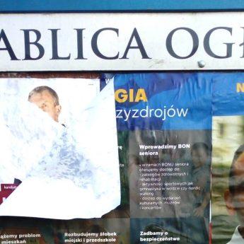 """Walka plakatowa dotarła do Międzyzdrojów. """"Niech kontrkandydaci zachowają zdrowy rozsądek"""""""