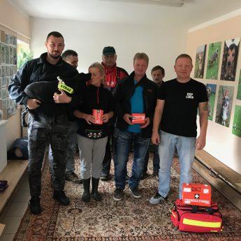 Strażacy z Lubina uczyli wszystkich jak udzielać pierwszej pomocy