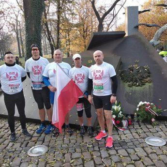 Biegacze z Kamienia Pomorskiego świętowali odzyskanie niepodległości w całej Polsce!