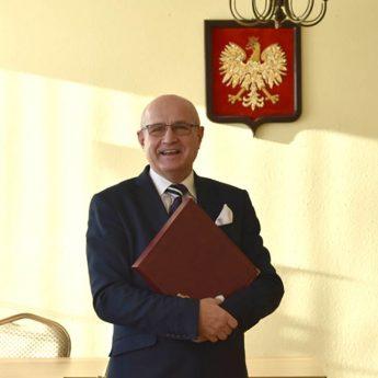 Pożegnanie Burmistrza Golczewa Andrzeja Danieluka