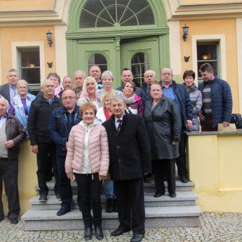 Stowarzyszenie Sołtysów Gminy Pruszcz Gdański z wizytą w Wolinie