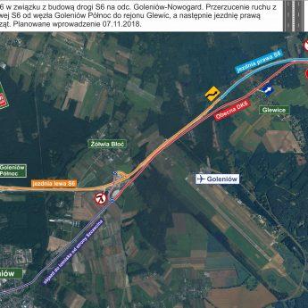 Uwaga Czytelnicy! Zmieni się sposób dojazdu do lotniska Szczecin-Goleniów